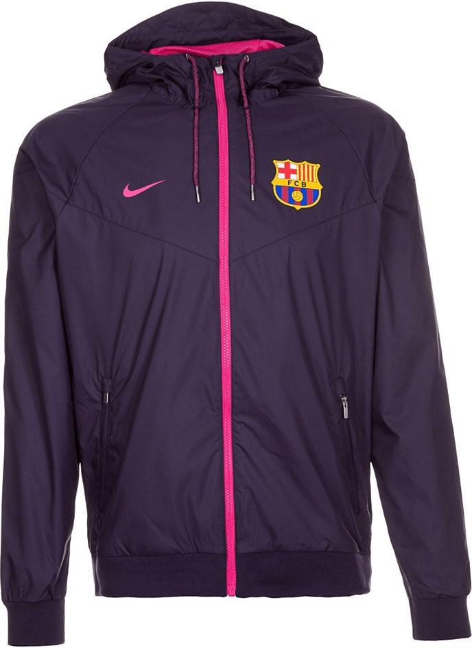 Nike FC Barcelona Windrunner Kapuzenjacke lila