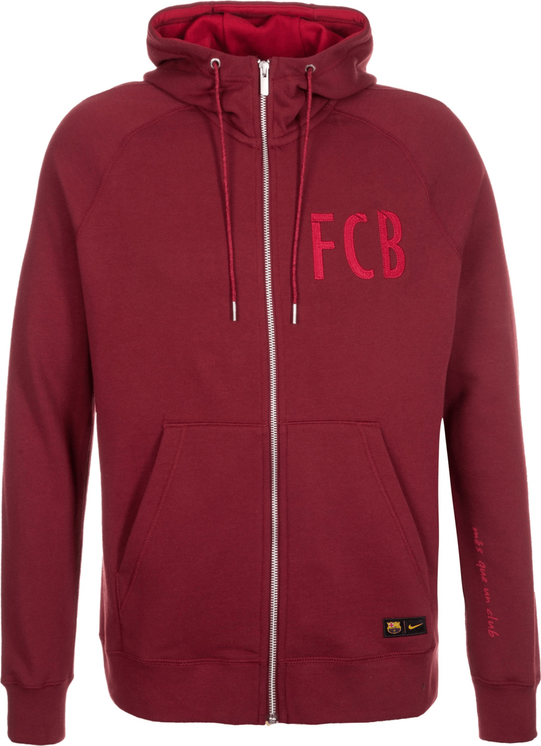 Nike FC Barcelona Authentic Kapuzenjacke rot