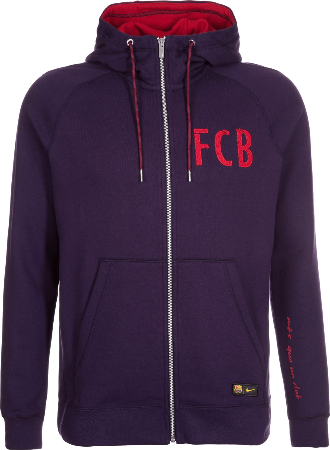 Nike FC Barcelona Authentic Kapuzenjacke lila