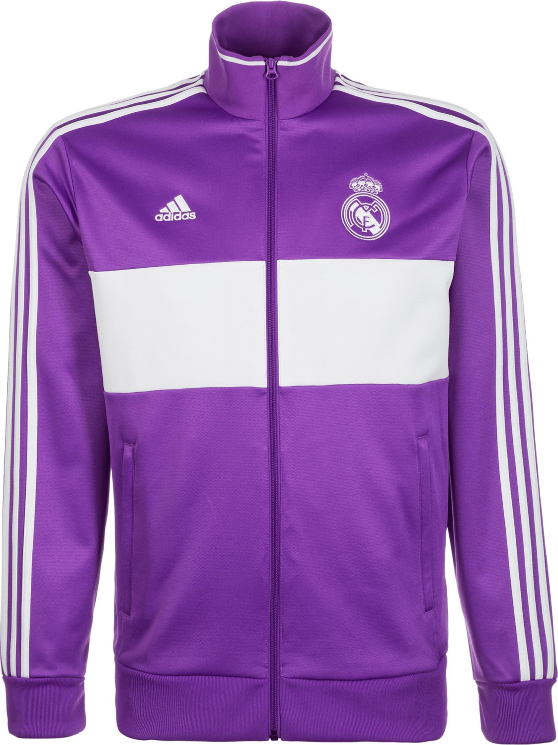 Adidas Real Madrid 3-Stripes Track Jacke