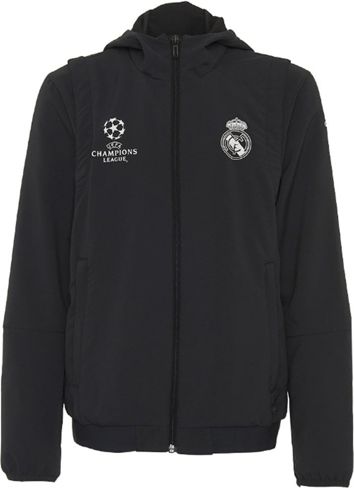 Adidas Real Madrid UCL Prematch Jacke Kinder