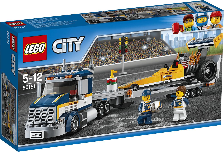 LEGO City - Dragster Transporter (60151)