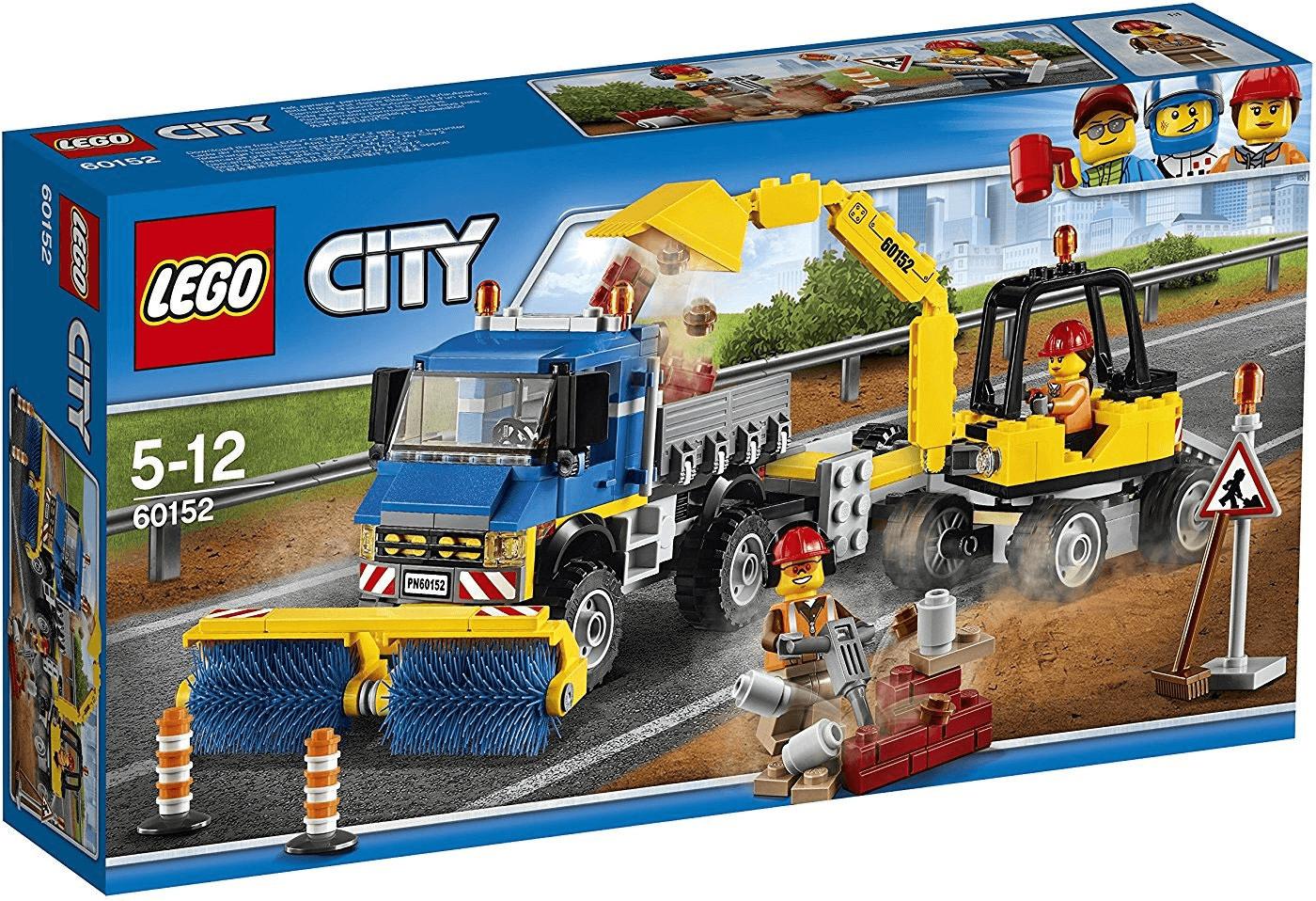 LEGO City - Straßenreiniger und Bagger (60152)