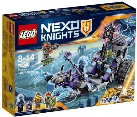 LEGO Nexo Knights - Ruinas Lock & Roller (70349)
