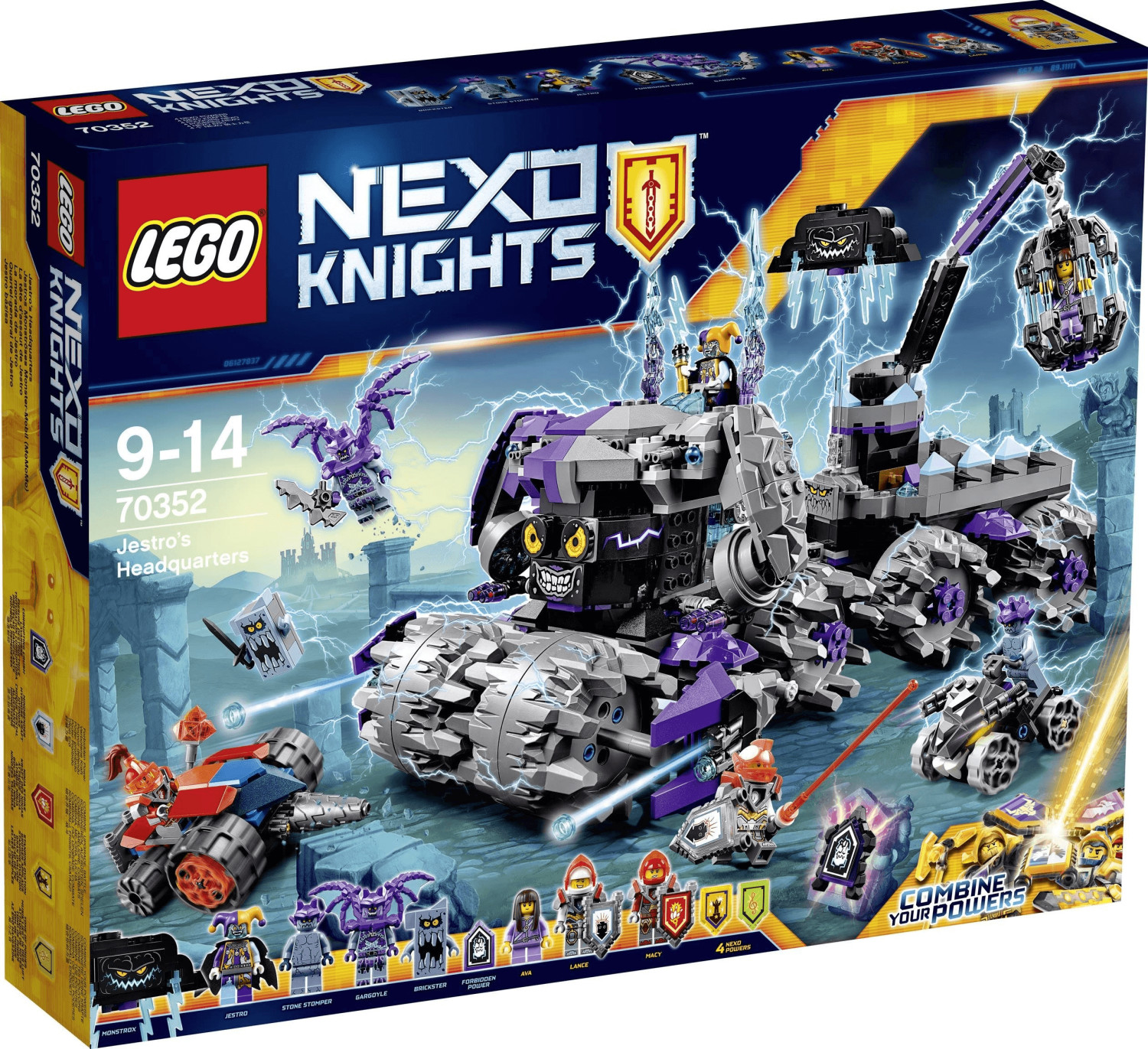 LEGO Nexo Knights - Jestros Monströses Monster-Mobil (70352)