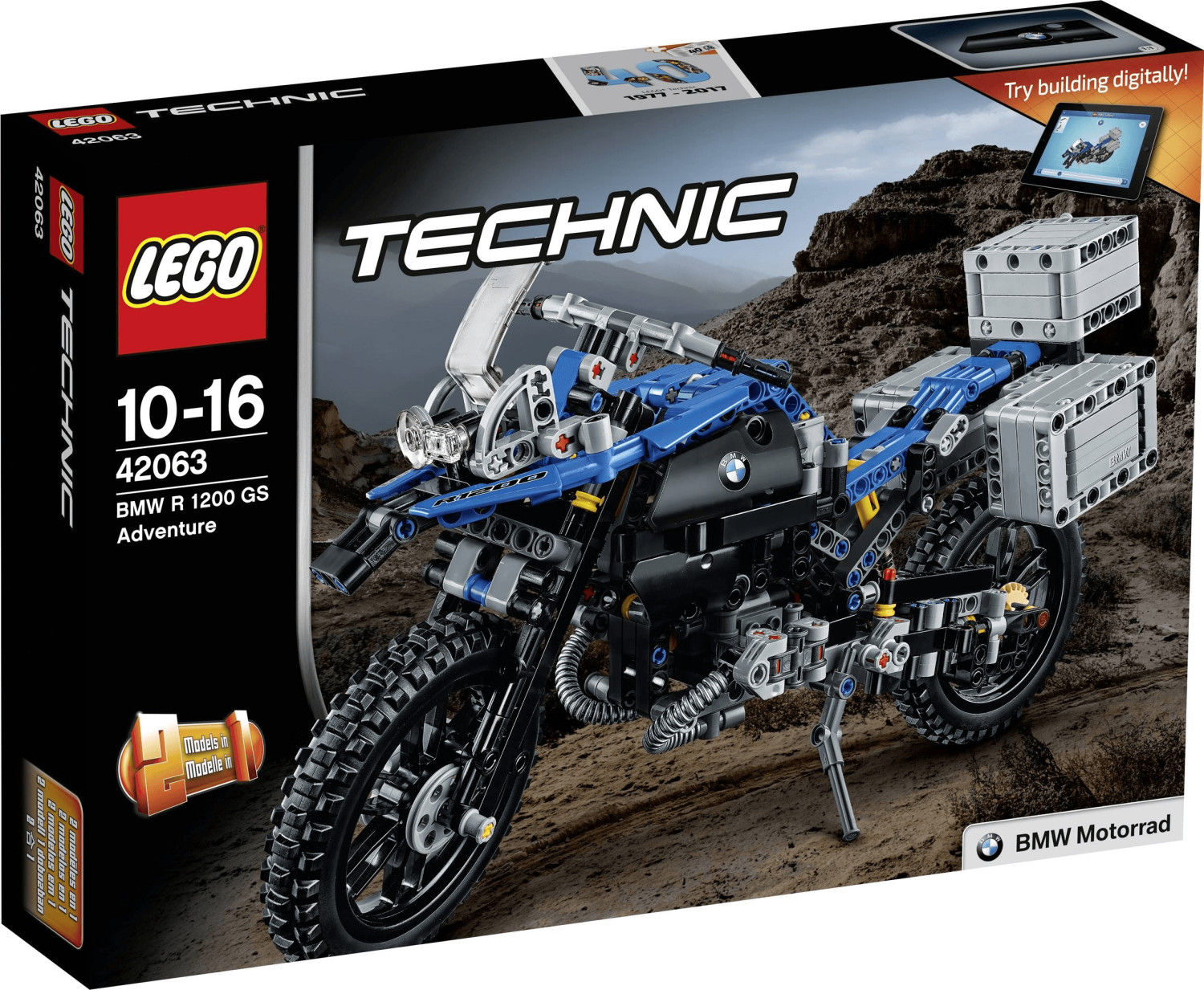 LEGO Technic - BMW R 1200 GS Adventure (42063)