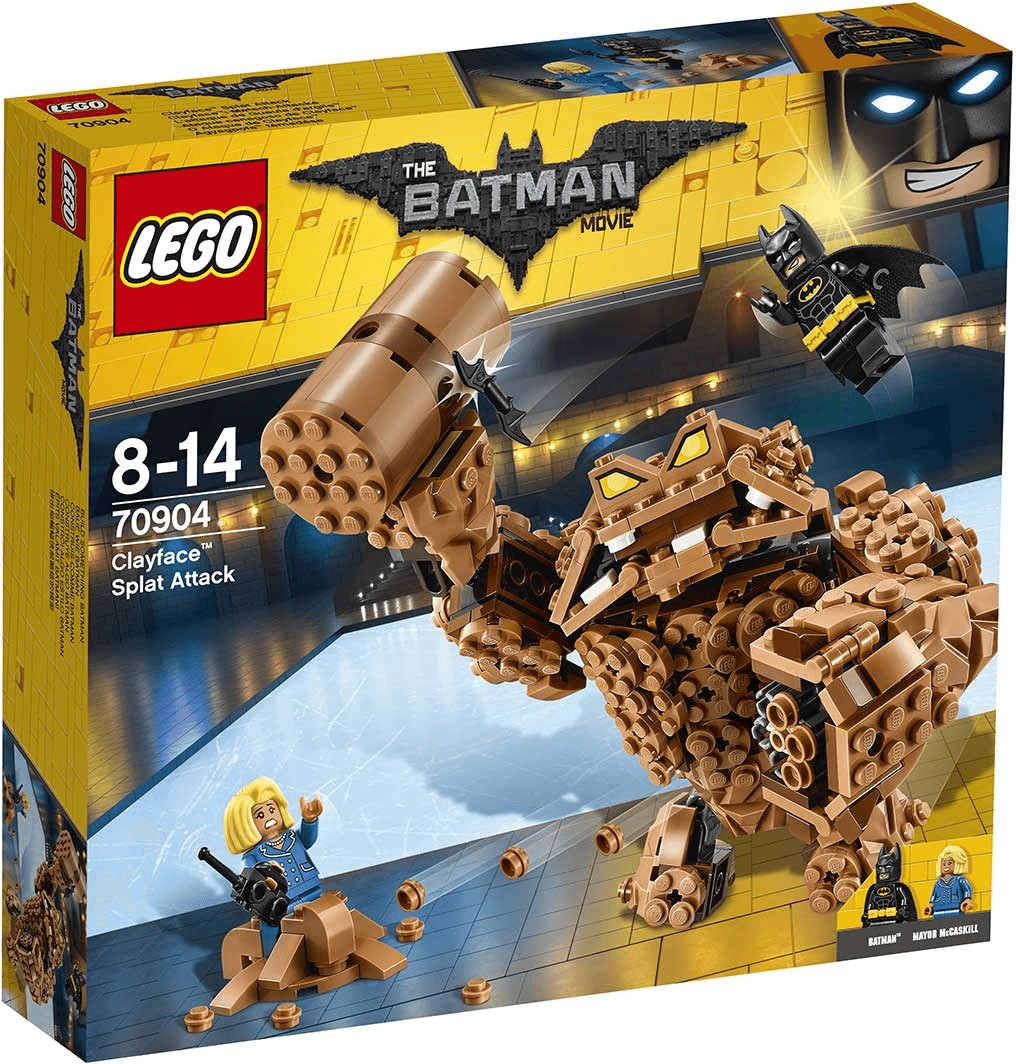 LEGO Batman - Clayface: Matsch-Attacke (70904)
