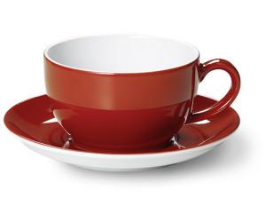 flirt geschirr doppio eisblau Flirt by r & b kaffeebecher grün doppio, 0,32 l aus porzellan, spülmaschinenfest, maße: (b)80 x (t)80 x (h)100 mm gepackt zu 6 stück (515800).
