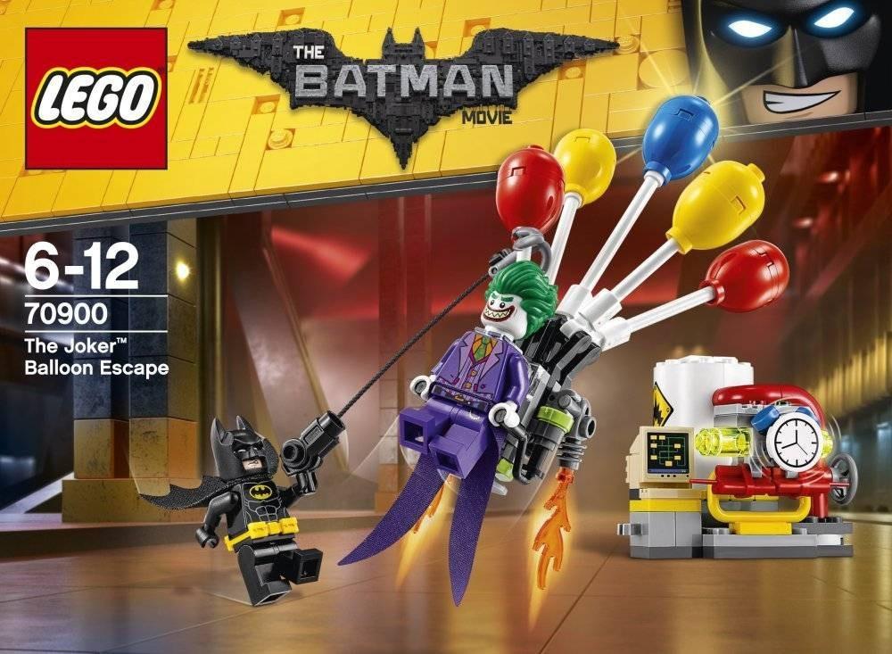 LEGO Batman - Jokers Flucht mit den Ballons (70900)