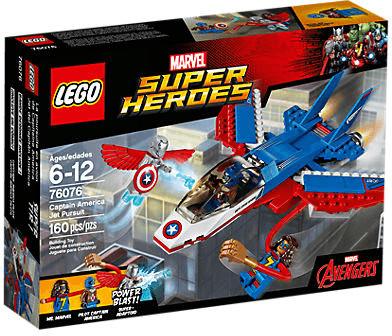 LEGO Marvel Super Heroes - Captain America: Düsenjet (76076)