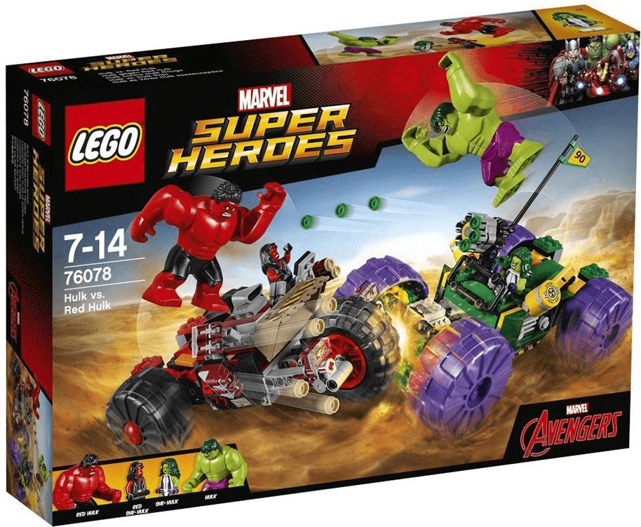 LEGO Marvel Super Heroes - Hulk gegen Red Hulk (76078)