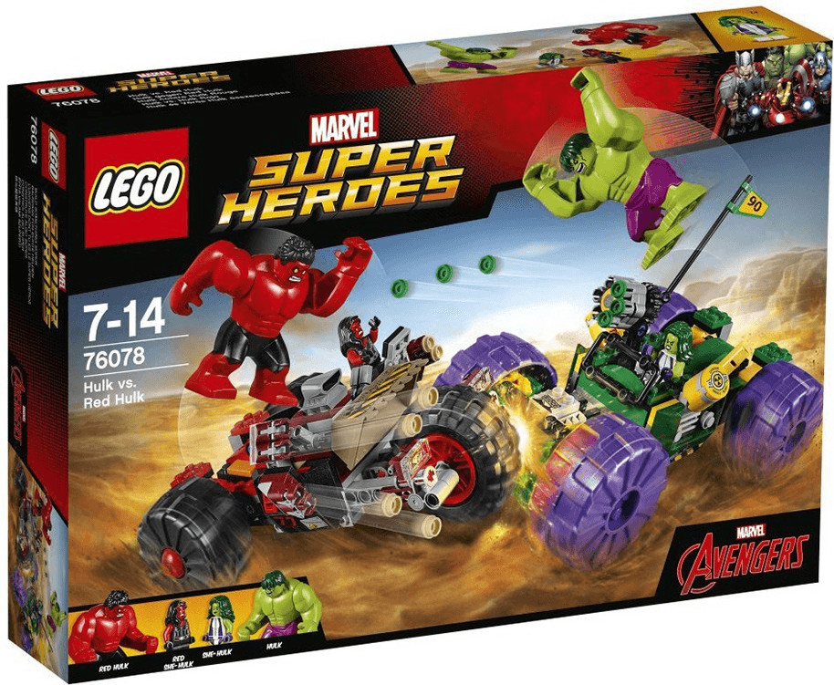 LEGO Marvel Super Heroes - Hulk contre Hulk rouge (76078)