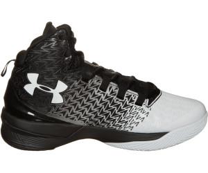 UA Clutchfit Drive 4 1269274-002Homme Baskets Noir,Blanc