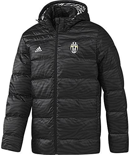 Adidas Juventus Turin Daunenjacke schwarz
