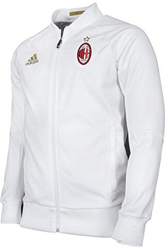 Adidas AC Mailand Anthem Jacke weiß