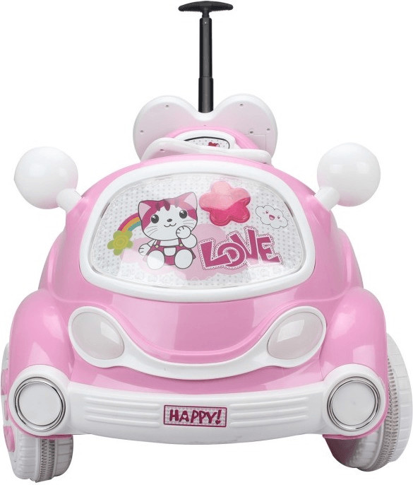 HomCom Elektroauto Kinderauto Pink