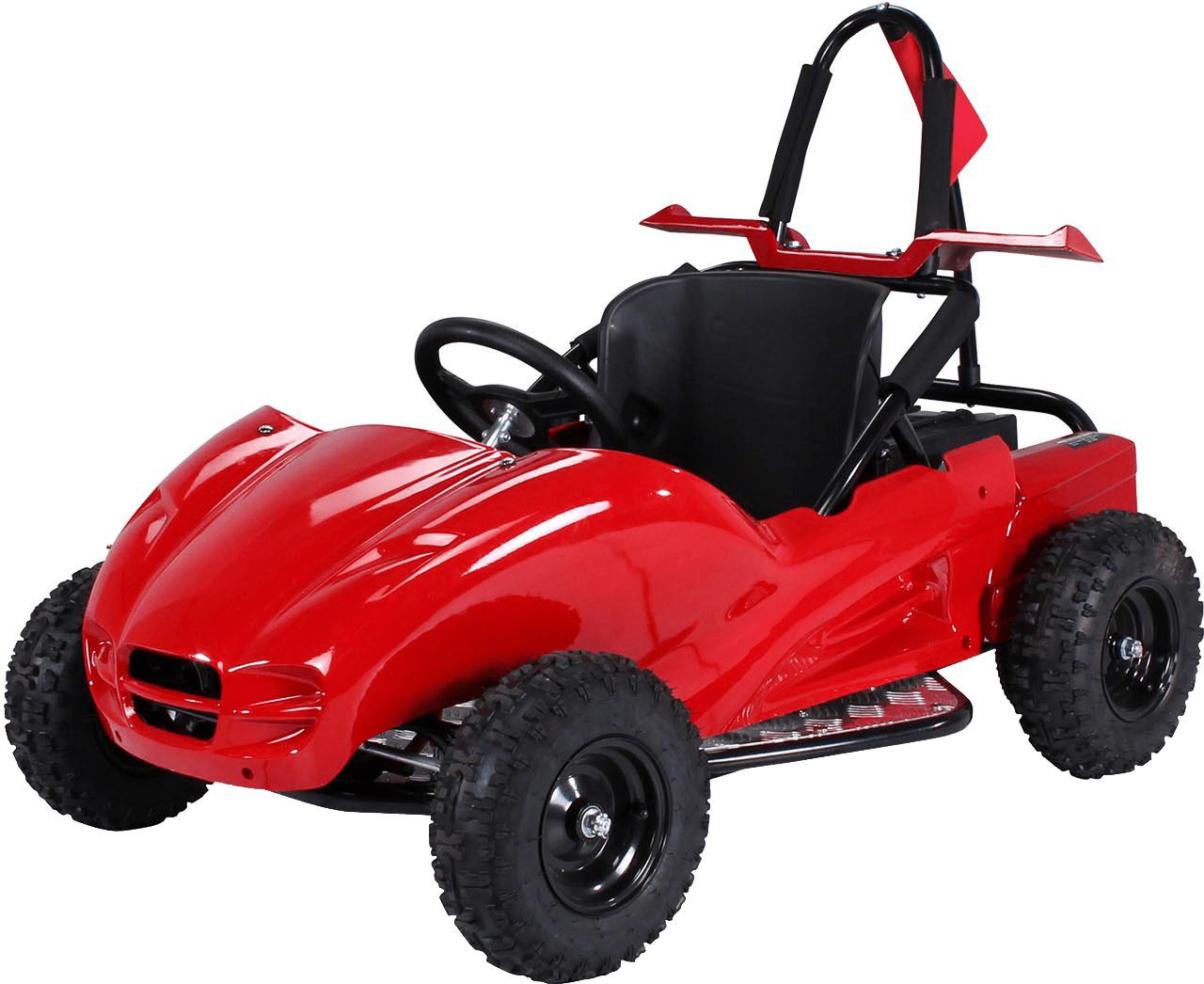 Actionbikes Kinder Buggy GoKart 1000 Watt schwa...
