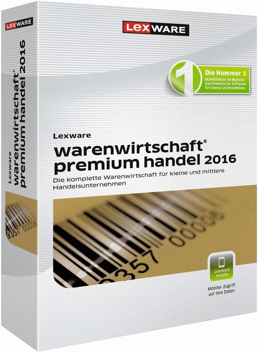 Lexware Warenwirtschaft 2017 Premium Handel (Box)