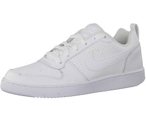 nike Turnschuhe court borough low in weiß
