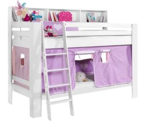 Etagenbett Rosa : Kinder hochbett spielbett rutsche komplett rosa neu ebay