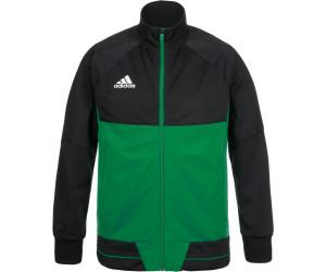 Adidas Tiro 17 Trainingsjacke Kinder black green white ab 16,20 ... dbe51cec19