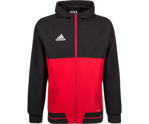 Adidas Herren Tiro17 Präsentationsjacke black scarlet