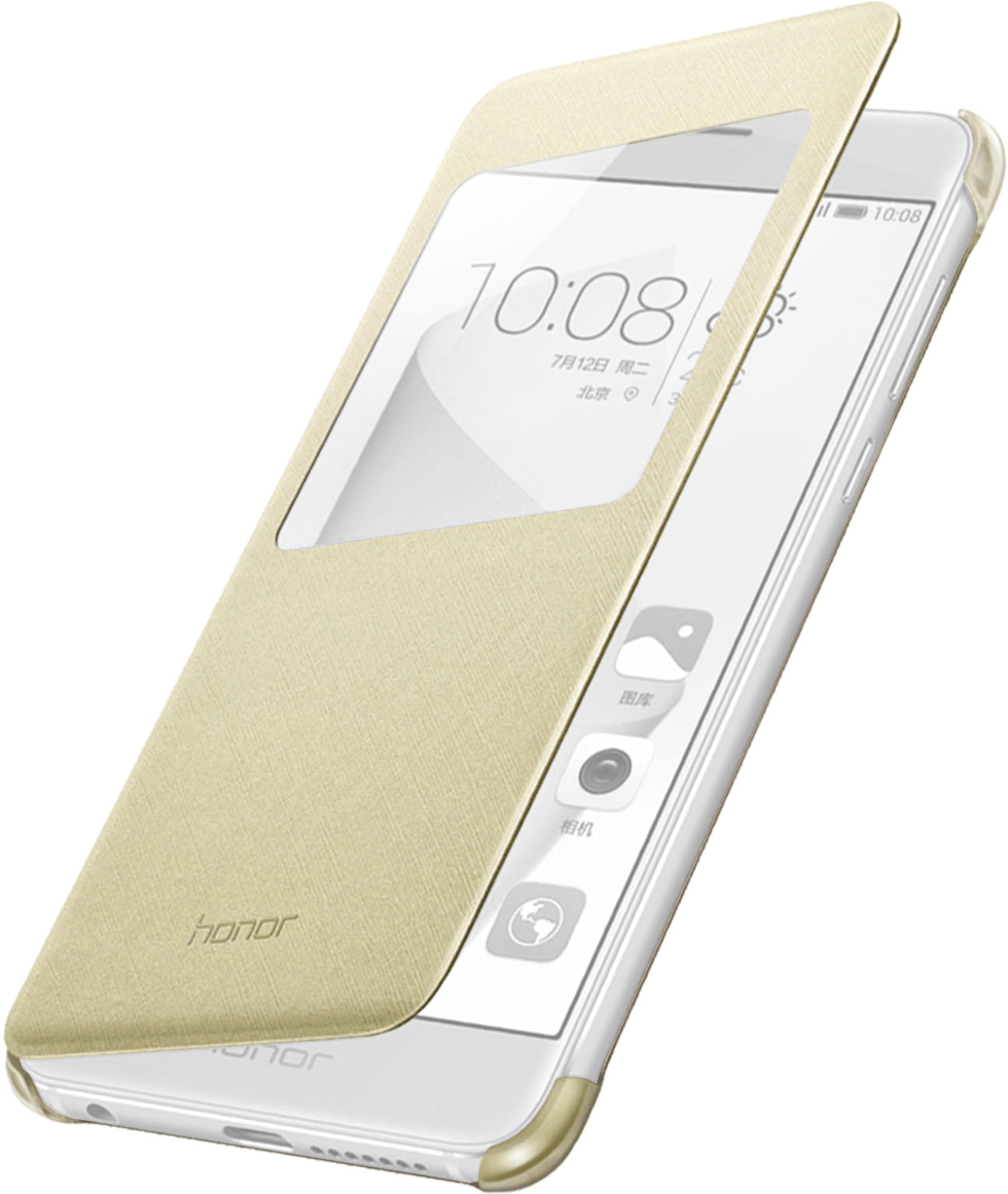 Honor View Flip Cover (Honor 8) gold