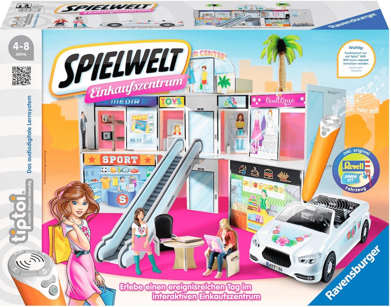 Ravensburger tiptoi Spielwelt Einkaufzentrum