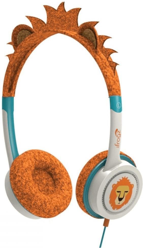 Image of ifrogz Little Rockerz Costume Orange Lion