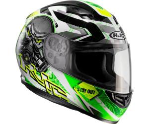 XS Bianco//Nero Casco moto HJC CS 15 TAREX MC10
