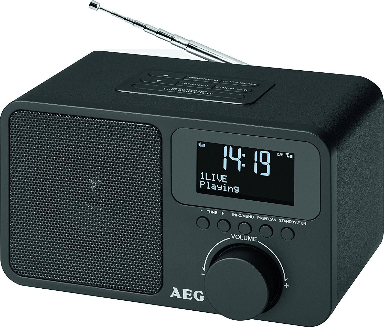 AEG DAB 4154 schwarz