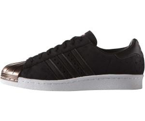 Adidas Superstar 80s W core schwarz/core schwarz/vapour Grau ab metallic ab Grau a0b414