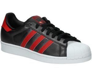 Adidas Superstar core blackcollegiate redcollegiate red au