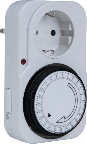 Heitronic Elektromechanische Zeitschaltuhr weiß...