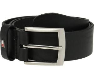 TOMMY HILFIGER New Danny Belt W90 Gürtel Ledergürtel Schwarz Black Leder Neu