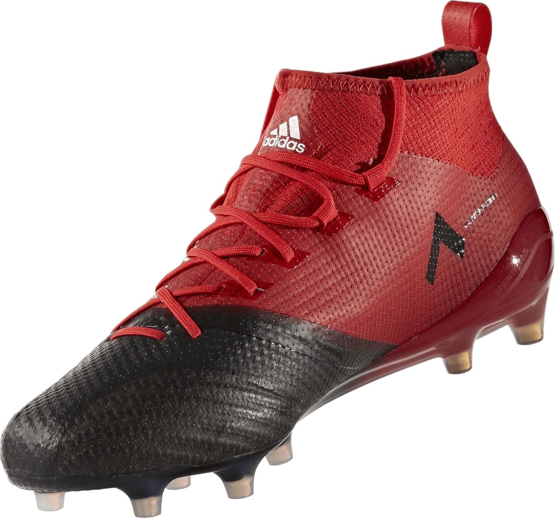 Adidas Performance Ace 17.1 Primeknit - Botas de fútbol para Hombre, Color Rojo, Color Rojo, tamaño 7
