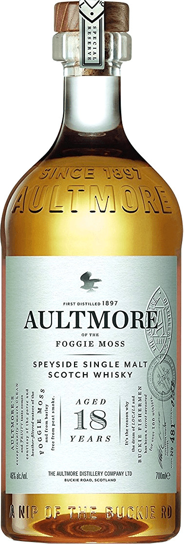 Aultmore 18 Jahre 0,7l 46%