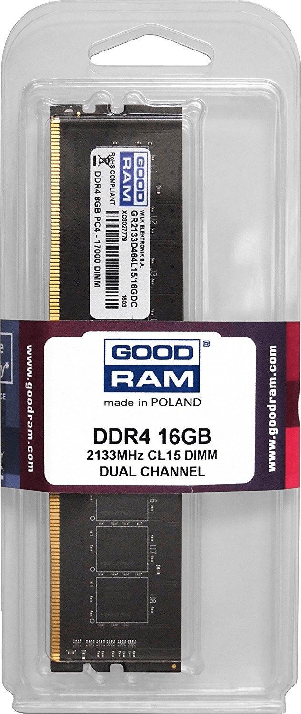 Image of GoodRAM 16GB DDR4-2133 CL15 (GR2133D464L15/16G)