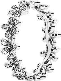 Pandora anillo margaritas brillantes 190934CZ-58