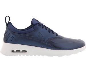 Elegant Nike For Women White Metallic Silver Air Max Thea