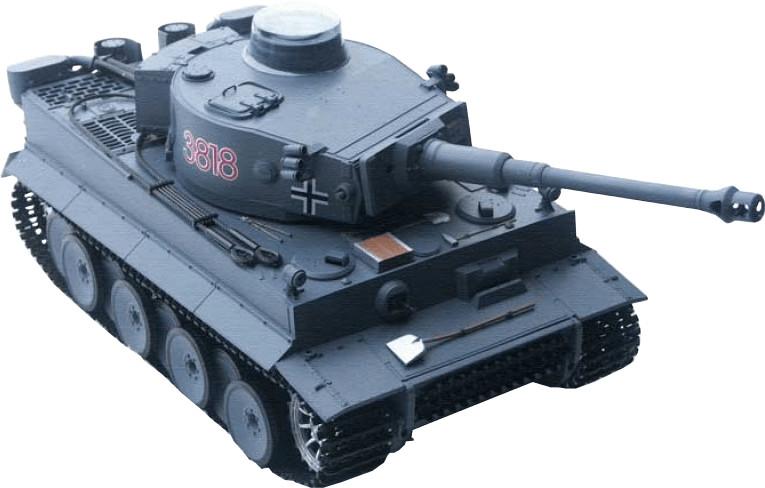 Heng Long RC Panzer Tiger 1 mit Sound und Rauch...