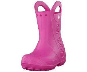 big sale 38c82 391d4 Crocs Kids Handle It Rain Boot candy pink ab 15,29 ...