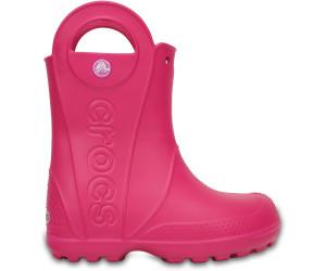Pink Ab Crocs Kids It 29 Candy Rain Boot 15 Handle doWxrBeC