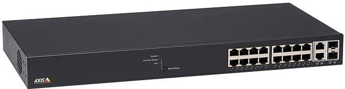 Image of Axis 16-Port Gigabit PoE Switch (T8516)