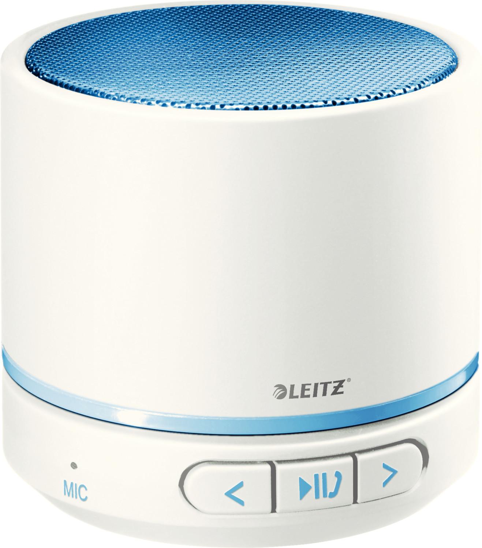 Leitz WOW Mini Konferenz Bluetooth Lautsprecher blau