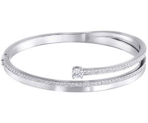 Swarovski Bangle Donna ottone cristallo rotonda