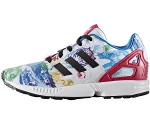 adidas zx flux k white