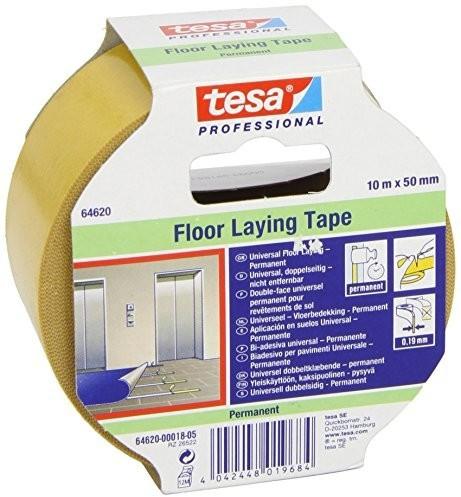 Tesa Verlegeband für Teppiche 10mx50mm