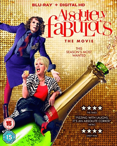 Image of Absolutely Fabulous: The Movie [Blu-ray]