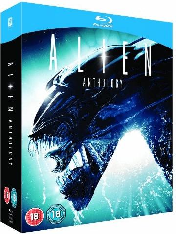 Image of Alien Anthology [Films 1-4] [Blu-ray] [1979] [4 Disc Set]